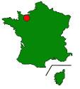Grafik:  Lage von Hérouville-Saint-Clair