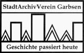 Logo des StadtArchivVereins Garbsen e V mit dem Motto: Geschichte passiert heute©StadtArchivVerein Garbsen e.V.
