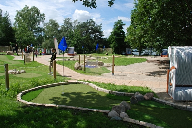 Blauer See: Adventure Golf