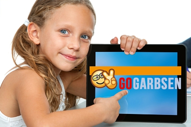Go Garbsen Kind Tablet © SHUTTERSTOCK