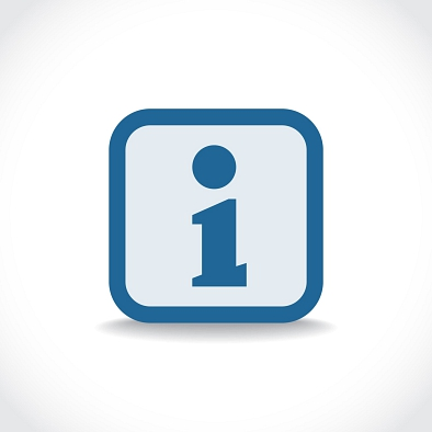 Information Icon © Shutterstock.com
